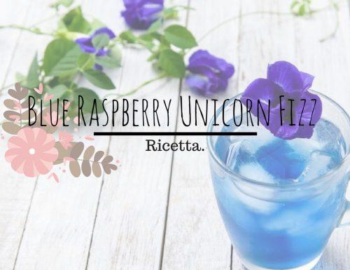 Blue Raspberry & Blue Raspberry Unicorn Fizz