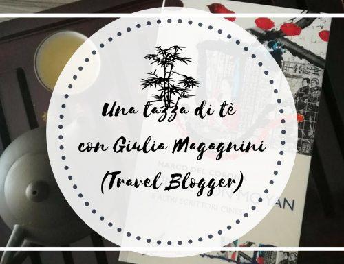 Una tazza di tè con Giulia Magagnini (Travel Blogger)