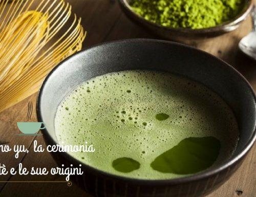 Chan no yu, la cerimonia del tè e le sue origini