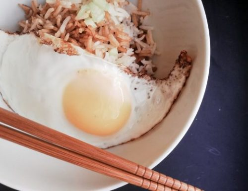 Link's Fried Egg and Rice