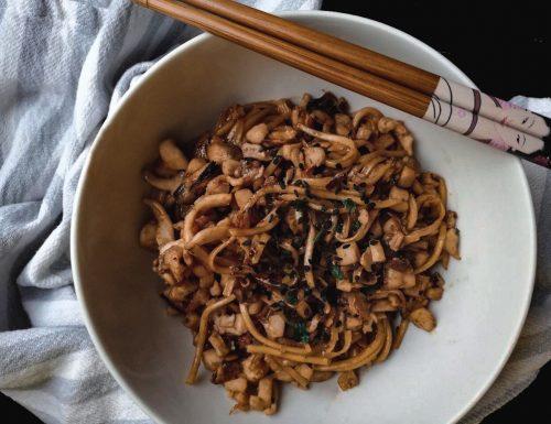 Yu-Meng noodles ai frutti di mare