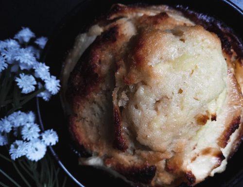 Monoporzione torta di mele