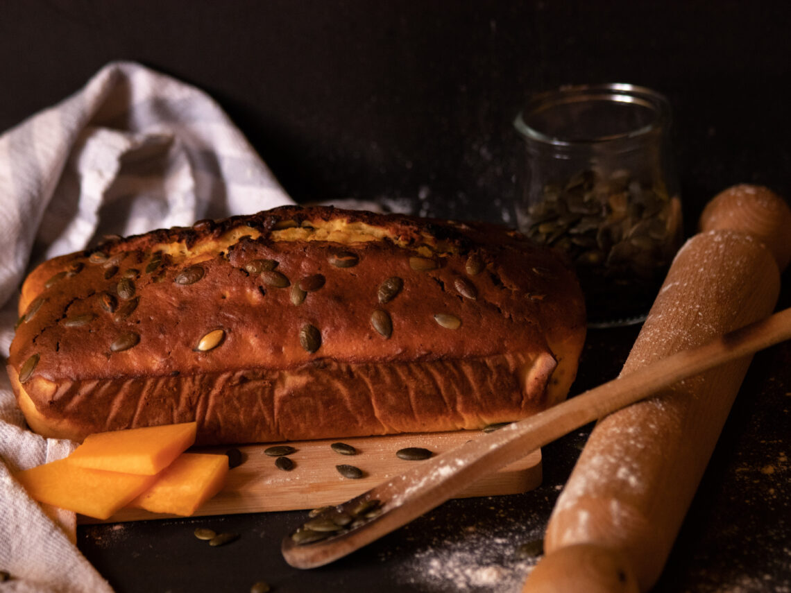 Plumcake alla zucca con scaglie di cioccolata