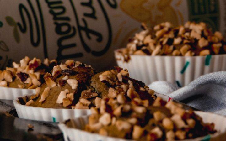 Muffin proteici con vaniglia e matcha