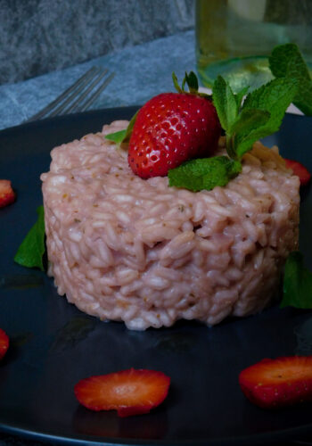 Risotto alle fragole