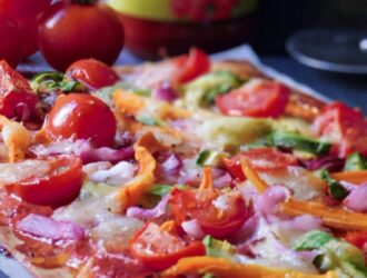 Low Carb Pizza alle verdure