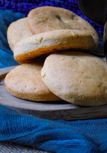 Biscotti senza uova e burro al gusto di vaniglia
